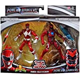 Saban's Power Rangers Movie Then and Now Red Ranger Action Figure Set 5 Inches