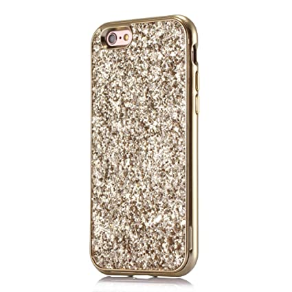 Coollee iPhone 6 iPhone 6S Case Glitter Bling Shiny Ultra Slim Girls Women  Diamond Rhinestone Bumper bc450090fb