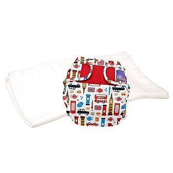 trial pack Bambino Mio 9kgs sail away size 1 miosoft two-piece diaper