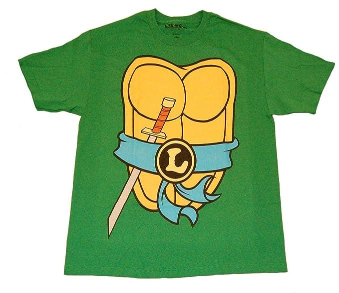 Teenage Mutant Ninja Turtles Disfraz de Camiseta para Hombre ...