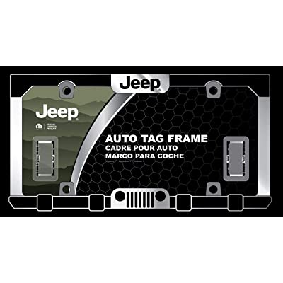Jeep License Plate Frame: Automotive