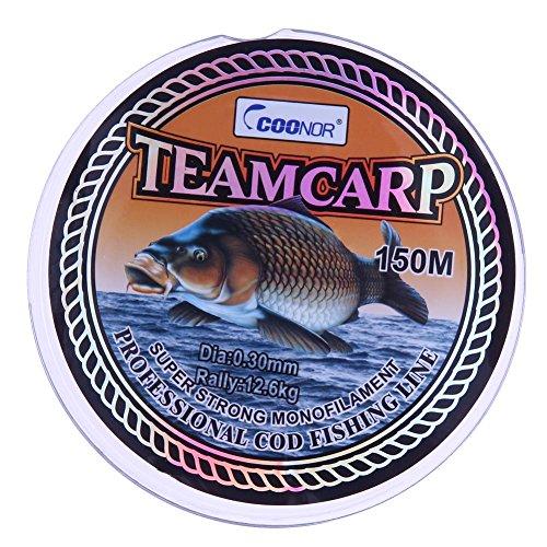 Alloet 150M Super Soft No Memory Fishing line Carp Fishing Cod Fishing Line (0.30mm)