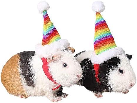 Sobotoo Sombrero elástico para Mascotas hámster o Gatito ...