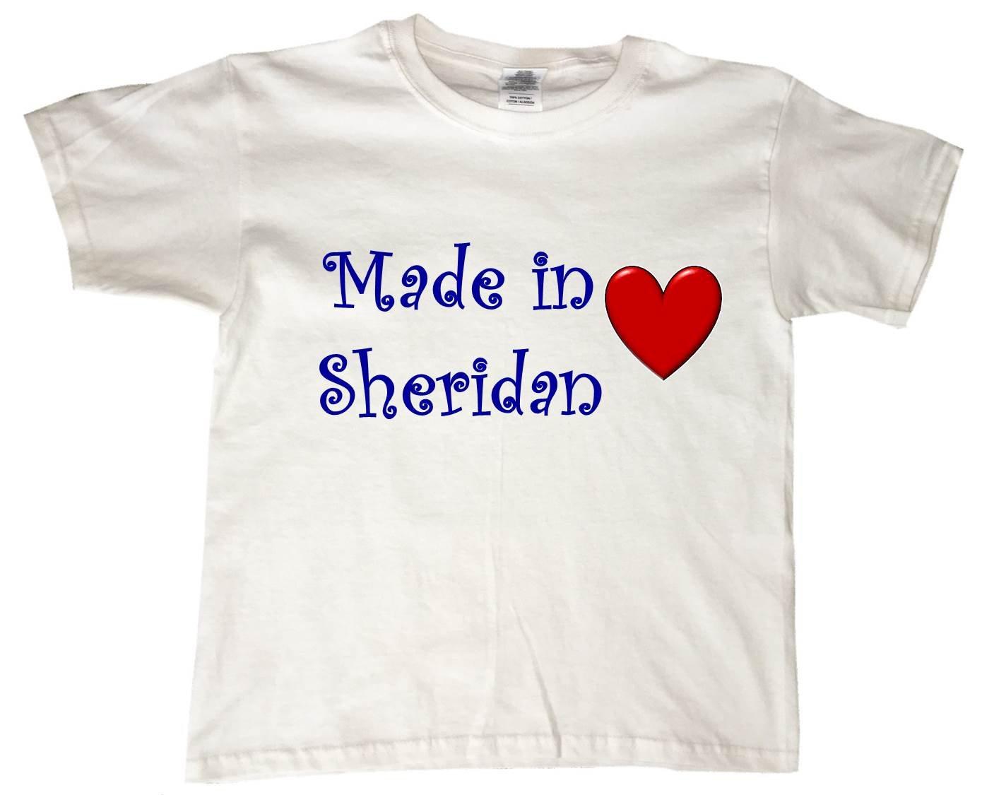 Made In Sheridan Bigmusic Designs T Shirt 2758