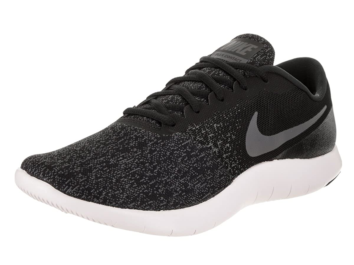 brand new 56d87 8a9eb Amazon.com   Nike Flex Contact Mens Running Shoes Lace-up (12, Black Dark  Grey Anthracite)   Running