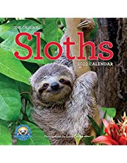 Original Sloths Wall Calendar 2022: 12 months of irresitable cuteness, sloth trivia, stories, and facts