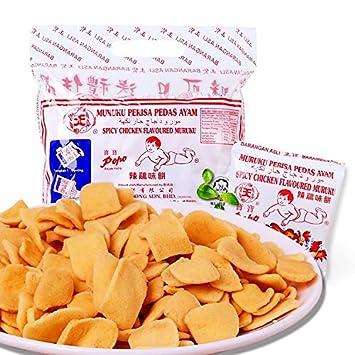 Malaysia Star Brand/Popo Fish Muruku/Savoury Crunchy Mid Afternoon