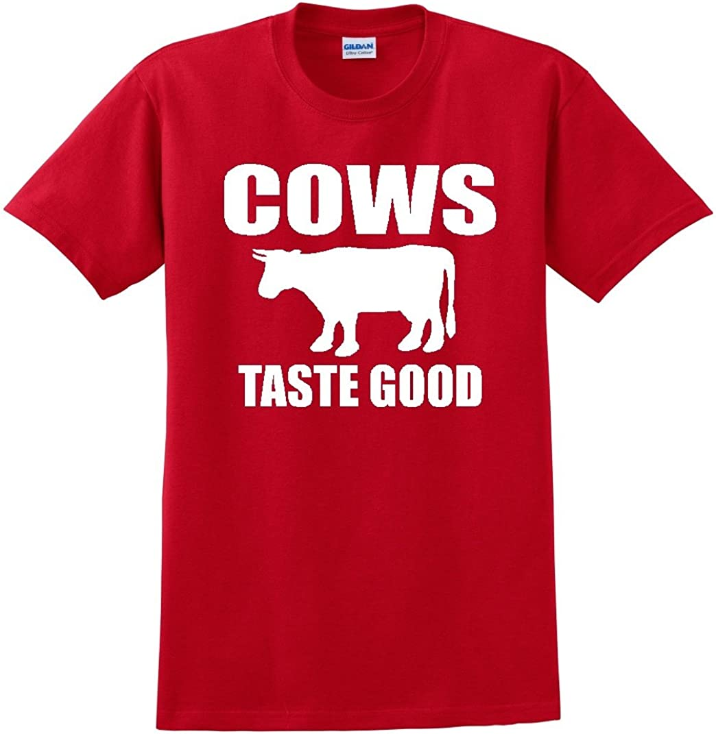 Cows Taste Good RED TEE Shirt