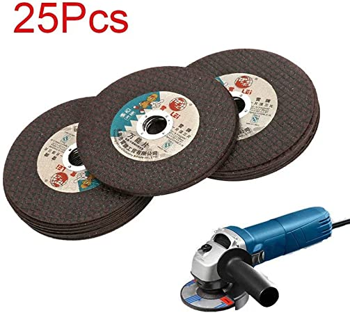 Angle Grinder 4in 25 Metal /& Stainless Steel Cut off Wheel Thin Cutting Discs