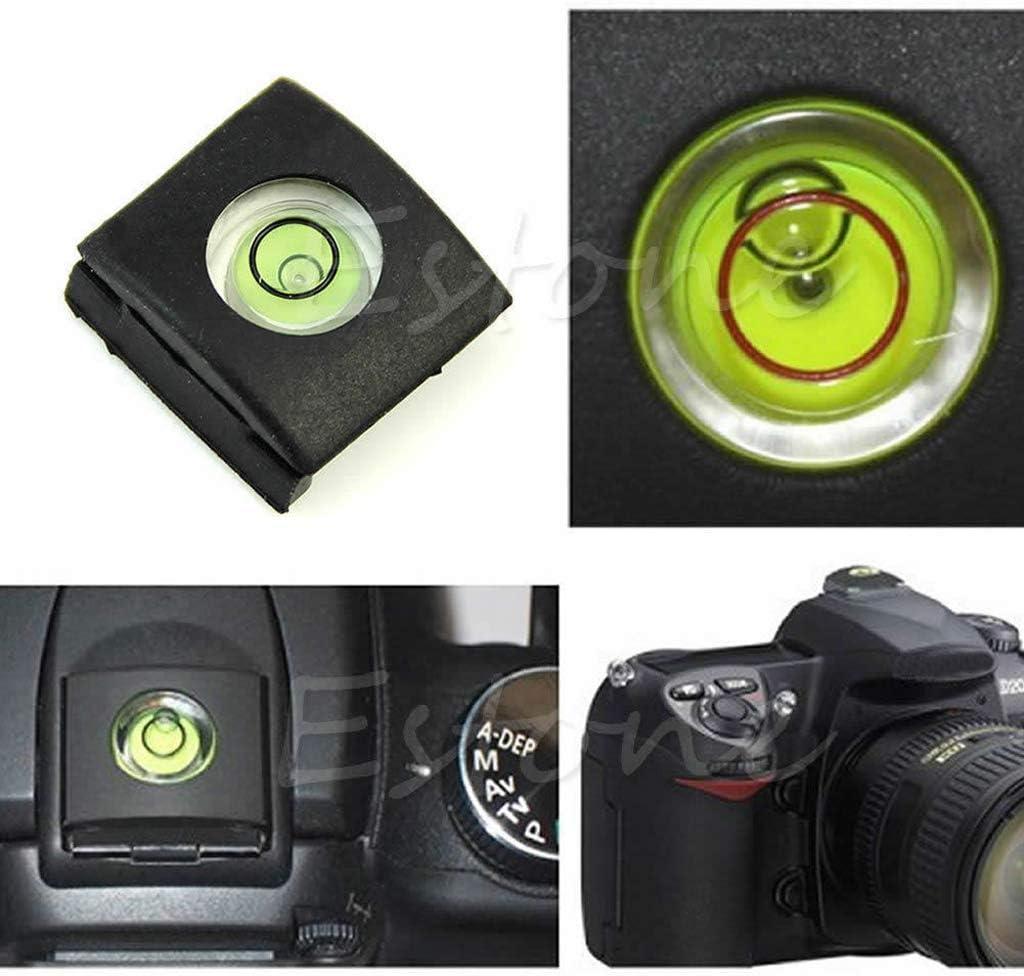 Huilier Hot Shoe Bubble Spirit Level Cover Cap for Canon Nikon Pentax Olympus Camera