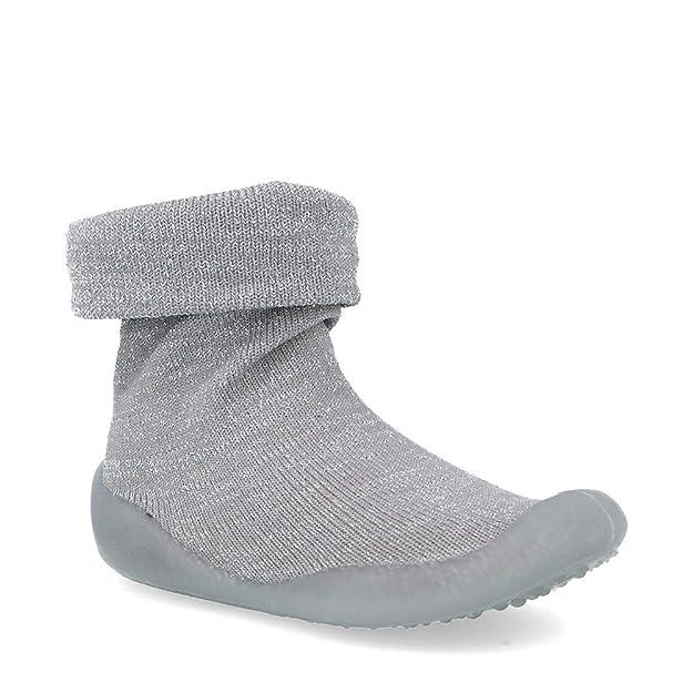 ANDY-Z Zapatillas de Ni/ños Ni/ña Beb/é Reci/én Nacido beb/é Dibujos Animados Pisos Antideslizante Suela de Goma Zapatos Suaves Zapatillas Piso de algod/ón Calcetines Goma Zapatos de ni/ño