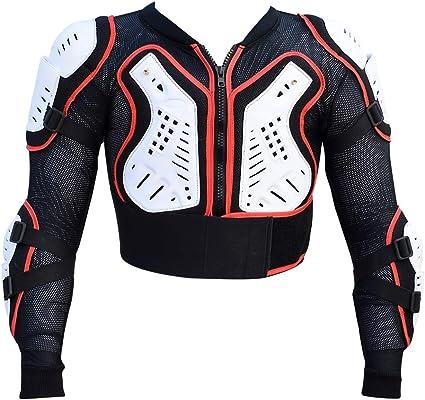 Heezy Kinder Protektorenjacke Protektoren Jacke Hemd Weste Ski Snowboard Motocross Quad Bmx Bekleidung