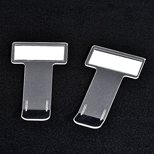 - TXIN 5Pcs Transparent Car Parking Ticket Holder Clip Car Windshield Invoice Tickets Holder With Adhesive Tape