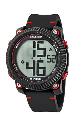 Calypso Reloj Digital para Hombre de Cuarzo con Correa en Plástico K5731/3: Calypso: Amazon.es: Relojes