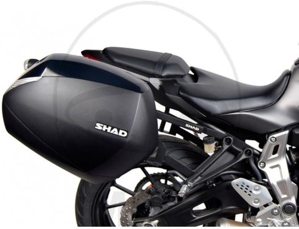 SHAD Y0MT74IF Soporte Maletas 3P System para Yamaha Mt07, Negro