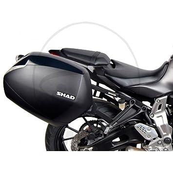 SHAD Y0MT74IF Soporte Maletas 3P System para Yamaha Mt07 Negro: Amazon.es: Coche y moto