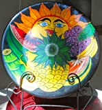 Large Multi-Color Mexican Talavera Norah Sun