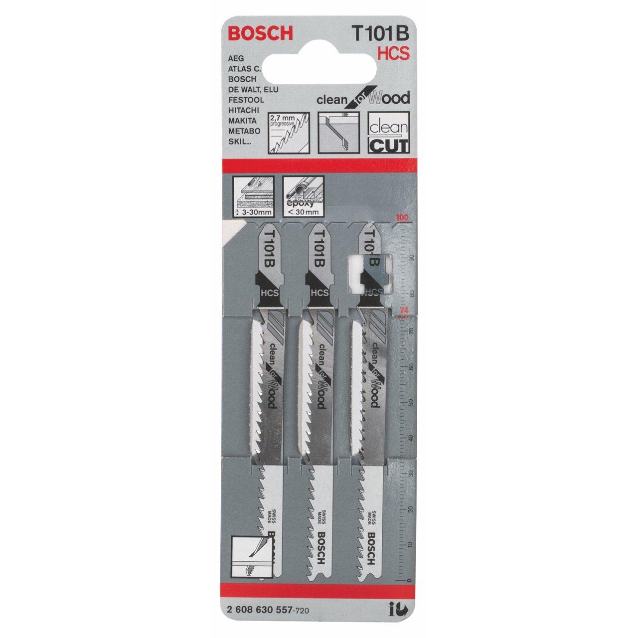 Bosch 2608630557 Stichsä geblatt 3 Stichsä geblä tter T 101 B