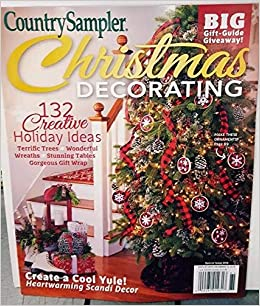 Christmas Gift Guide Magazine.Country Sampler 2018 Christmas Decorating Big Gift Guide
