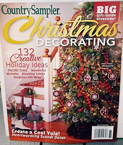 Country Sampler 2018 Christmas Decorating Big Gift Guide -