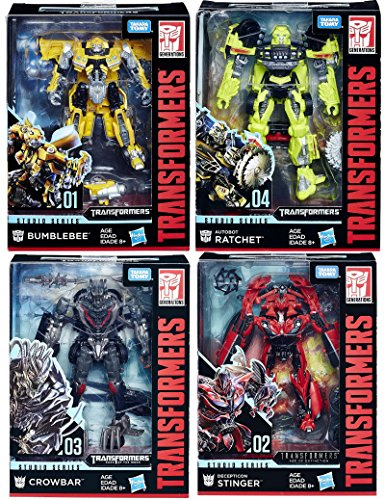 Transformers Studio Series Premier Deluxe Wave 1 Set Deluxe Stinger