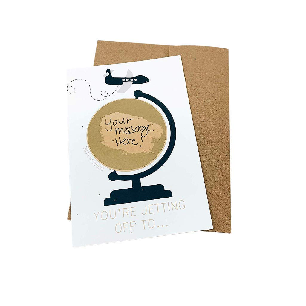 Christmas Card Scratch To Reveal Your Personal Message Surprise Gift
