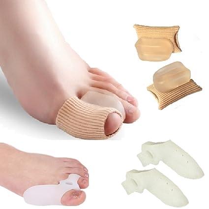 Separador de dedos Protector Tubo De La Manga para el dedo gordo del martillo Toe esparcidor
