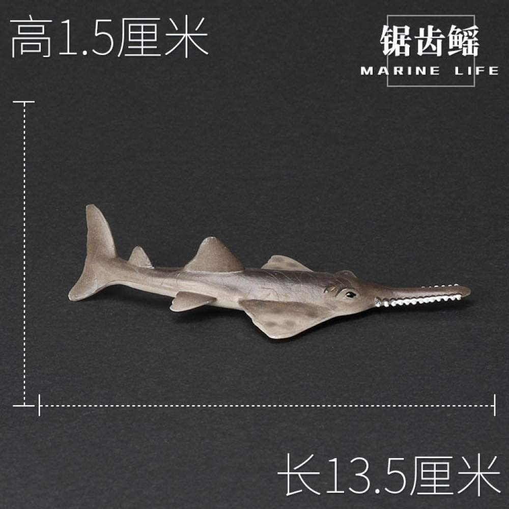 Blue and white whale small model