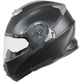 BILT Evolution Modular Motorcycle Helmet - MD, Matte Black