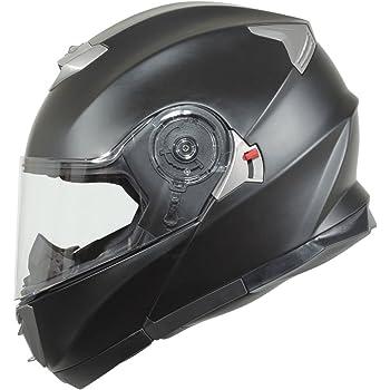 BILT Evolution Modular Motorcycle Helmet - MD, Matte Black