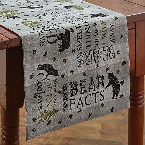 Park Designs Bear Facts Table Runner - 36