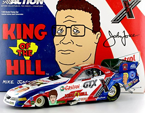 Action John Force Castrol GTX - King of The Hill 2003 Mustang Funny Car NHRA Diecast