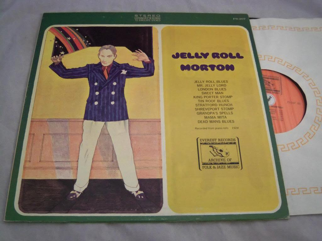 Max 40% OFF Manufacturer regenerated product Jelly Roll Morton VINYL – LP FS-267 Everest