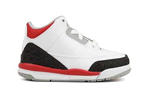 buy online 8498a f02da Nike Air Jordan III (3) Retro Bright Crimson (TD) Toddlers Babies 832033