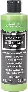 product image for DecoArt Americana Multi-Surface Satin Acrylic Paint, 8-Ounce, Leprechaun