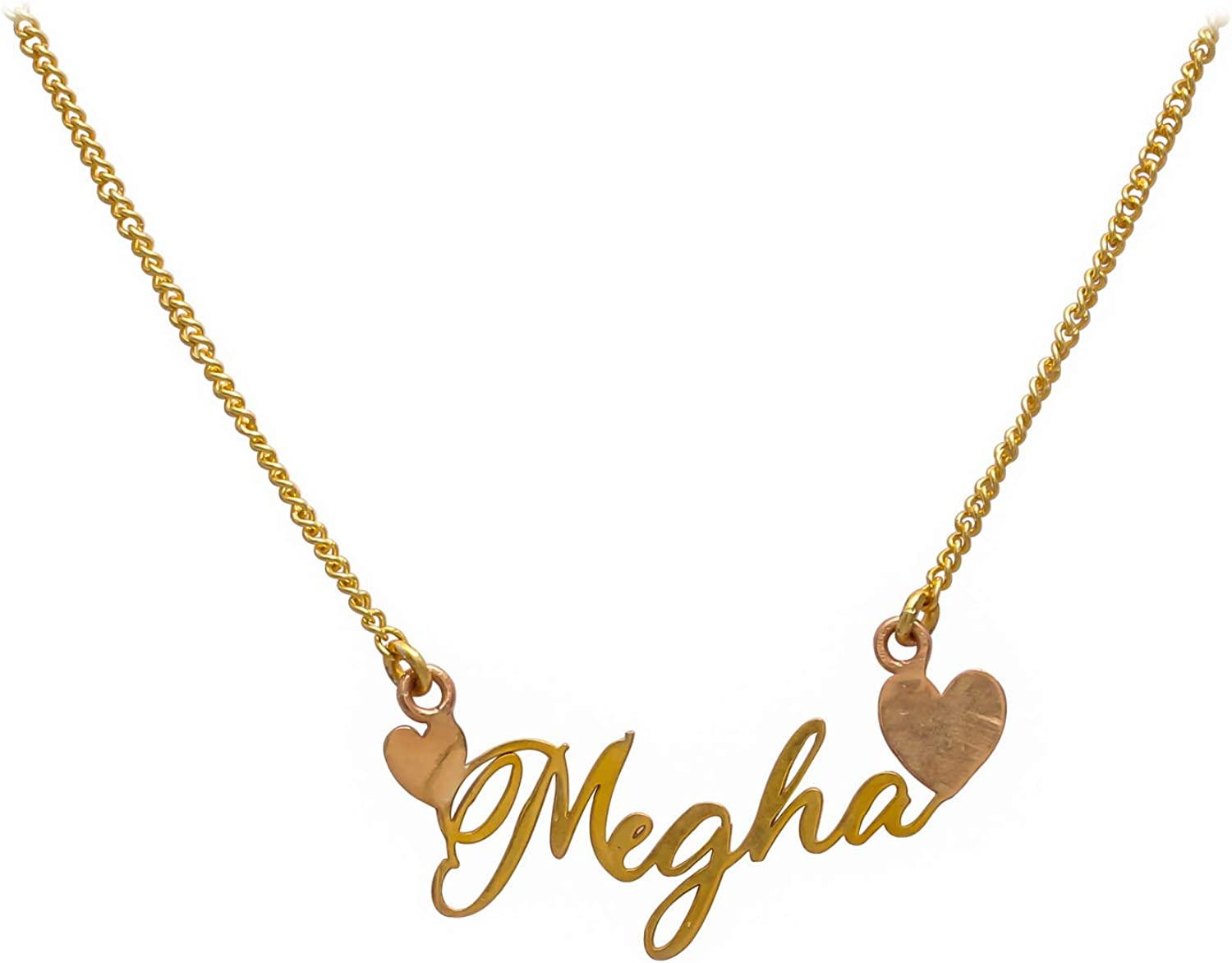 Name Necklace High Quality Polished Available in Gold Plated,Silver Plated,Rose Gold Plated Rhodium Plated At Unbeatable Price Brass Metal Necklace