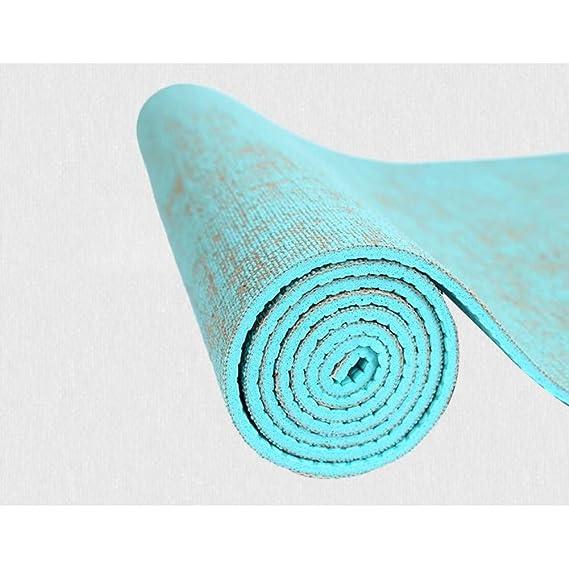 HYTGFR Esterilla Yoga Antideslizante 183 * 61 Cm * 5 Mm ...