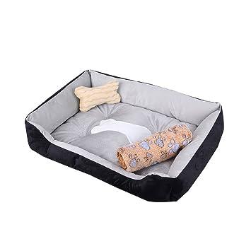 DS alfombra para mascotas Cojín para dormir para mascotas Estera para perros Perro pequeño Perro mediano