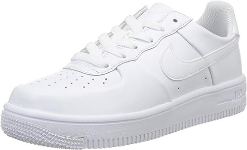 Nike White, Chaussures de Sport Garçon