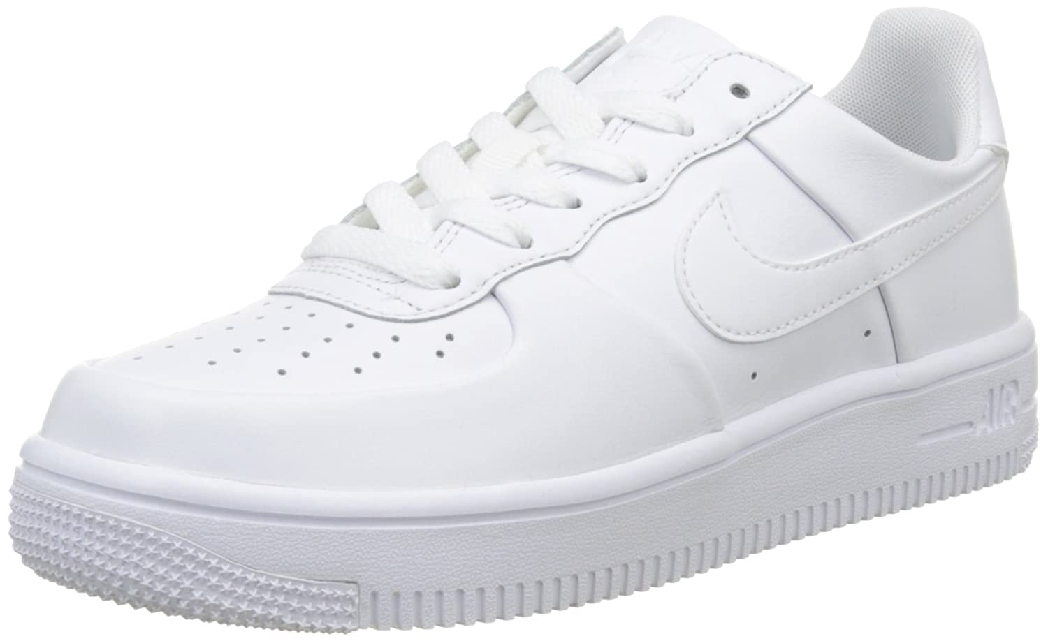 new arrival edd57 b602f Amazon.com   Nike Air Force 1 Ultraforce GS Big Kids  Shoes  White White White 845128-101   Basketball