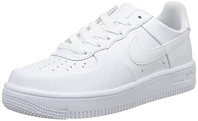 size 40 24bf3 9c824 Nike Unisex Junior Air Force 1 Ultraforce (GS) Basketball Shoes, White, 6
