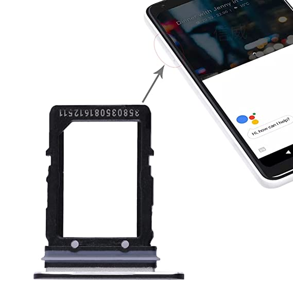 Responsible Black/white Sim Card Tray Slot Holder For Htc Google Pixel 2 Xl 6.0 Replacement Parts Jewelry & Watches Advertising
