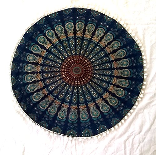 Shubhlaxmifashion 22 Blue Mandala