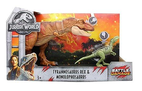 Jurassic World 2 Fallen Kingdom Tyrannosaurus Rex Monolophosaurus
