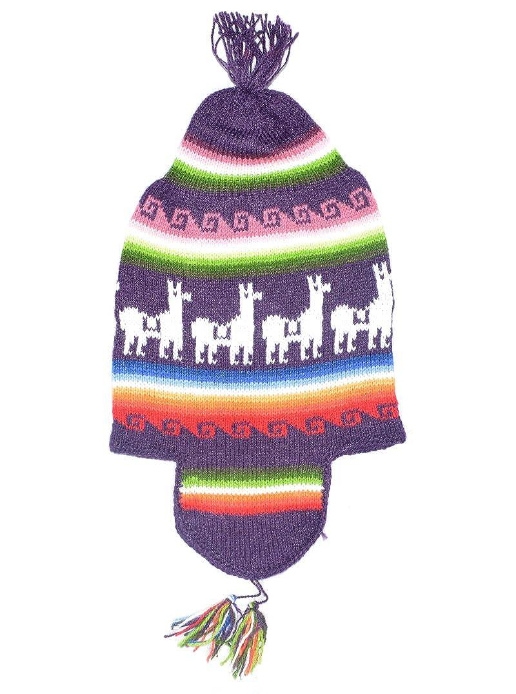 Gamboa - Alpaca Cap with Ear Flaps - Unisex Alpaca Cap - Alpaca Ski Hat 99474