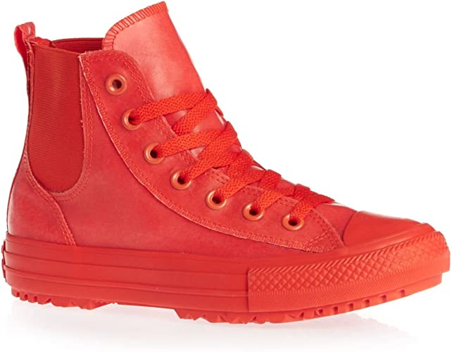 Original Women's Converse Chuck Taylor All Star Hi Rise Boot Warm Red Red 549592C Size UK 5 (SA 5) | bidorbuy.co.za