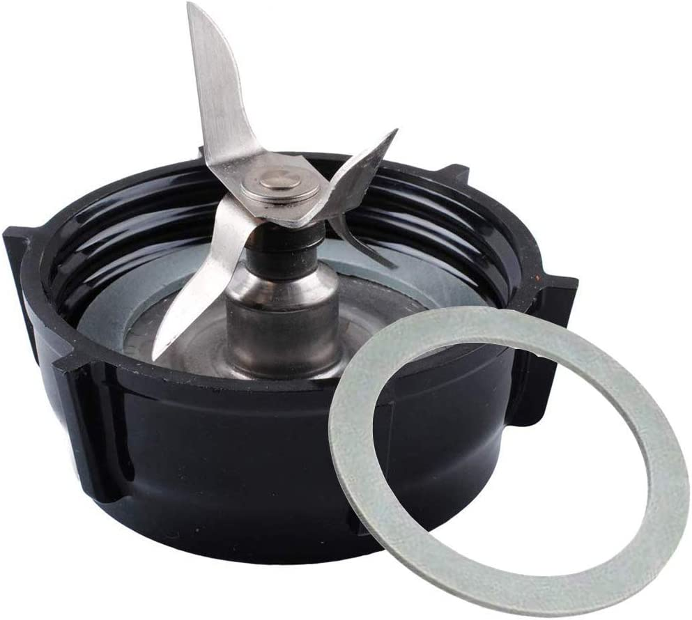 Blender Replacement Parts for Oster-4961 Blender Blade Assembly with 4902 Bottom Cap and Rubber Gasket