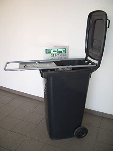 ABRI-PRESS 240 Prensa para basura de tubo de acero (para ...