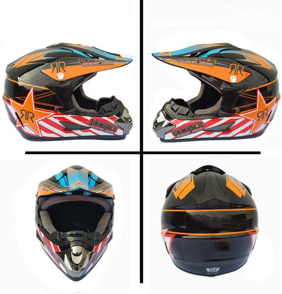 HNLong Motorradhelm Mountainbike Integralhelm Offroadhelm Kleiner Leichter Integralhelm Integralhelm Warmer Schutzhelm