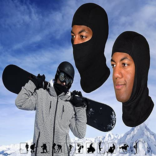 Balaclava Face Mask Helmet Liner Face Mask for Cold Weather Ski Masks for Men Balaclava Full Face Mask Motorcycle Bandana Tactical Face Mask Hood Neck ...